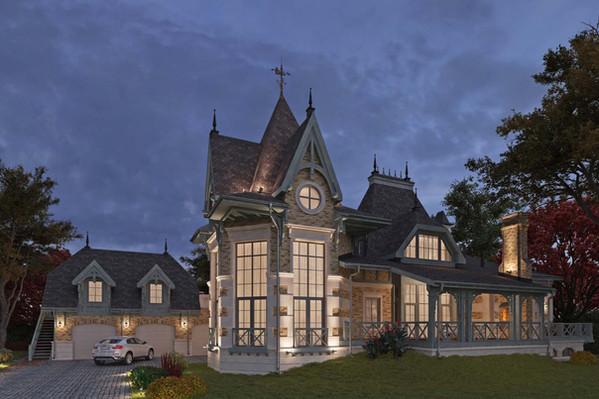 Проект частного дома Ural House