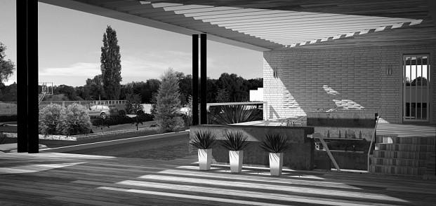 проект частного дома origami АБ Новая РАСА