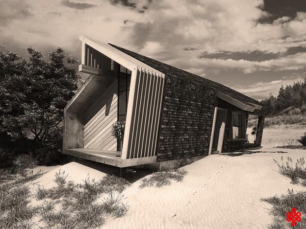 Проект модульногочастного дома из металлокаркаса Schindel