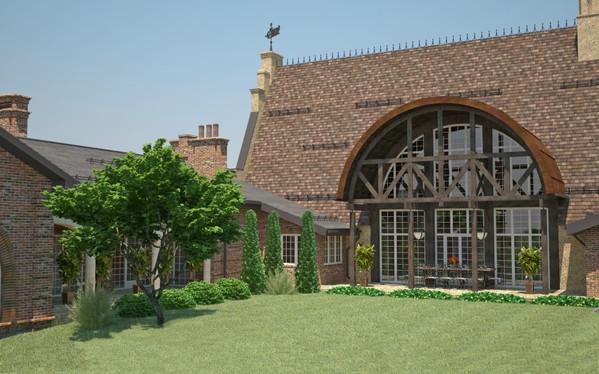 Проект частного дома в английском стиле