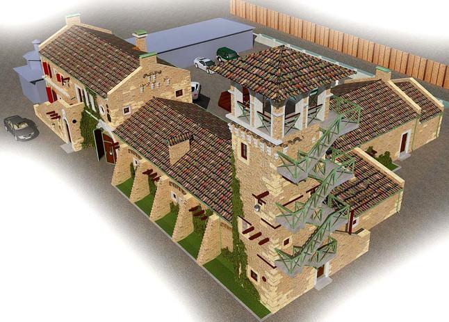 Проект SPA для гостиничного комплекса Old House