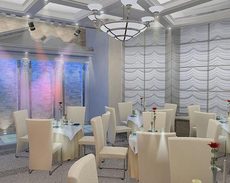 Дизайн-проект ресторана пансионата «Храм Воздуха»