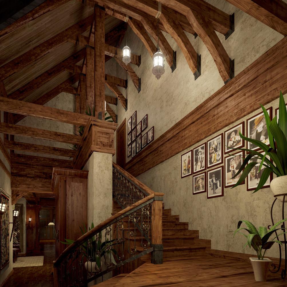 Дизайн-проект частного дома Ark