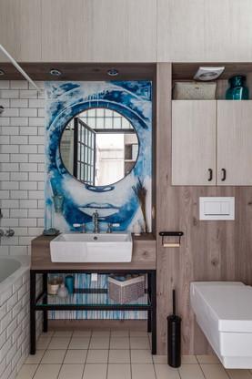 реализация интерьера квартиры MANHATTAN LOFT