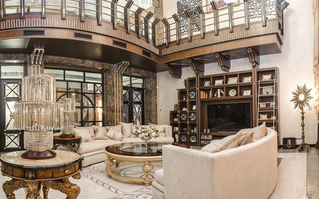 Дом в стиле Art Deco