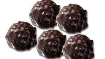 Rocher au chocolat noir