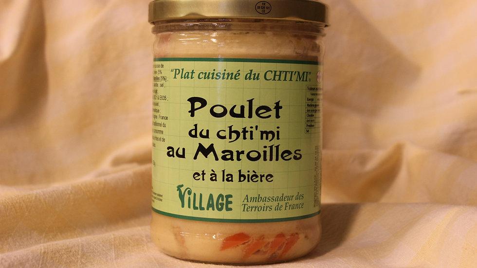 Poulet au Maroilles 750 g