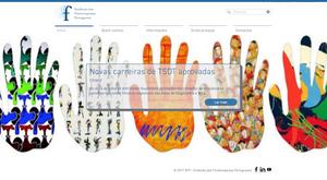 Novo website SFP