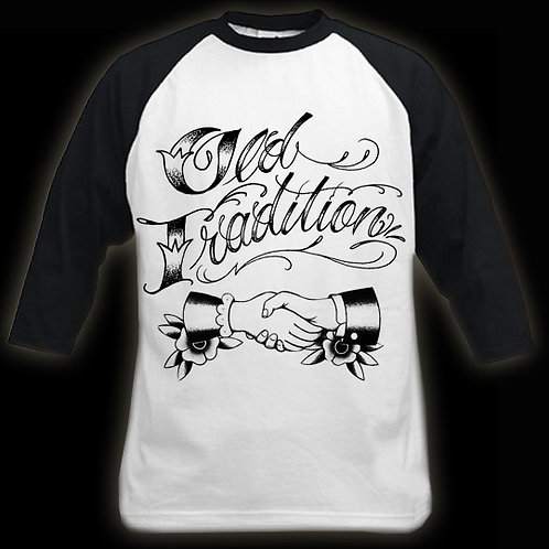 Old Tradition Tattoo T-Shirt - Black & White