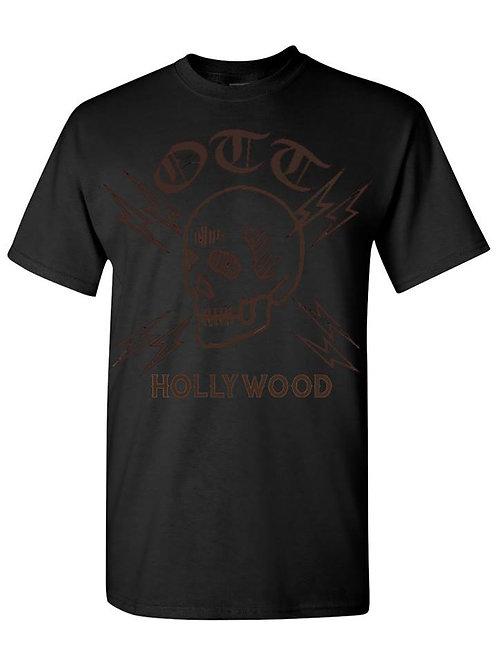Old Tradition Tattoo T-Shirt - Skull Logo BLK
