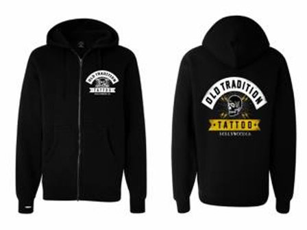 Old Tradition Tattoo Hoodie - BLK
