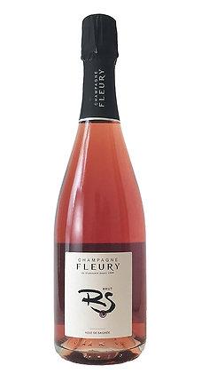Fleury - Champagne Rose de Saignee Brut