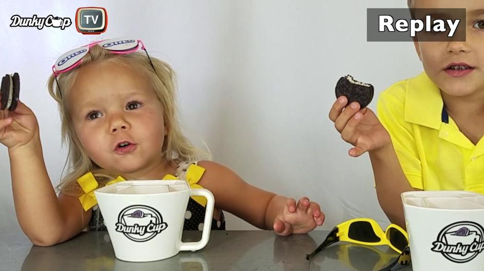 Dunky Cup - Oreo Taste Test