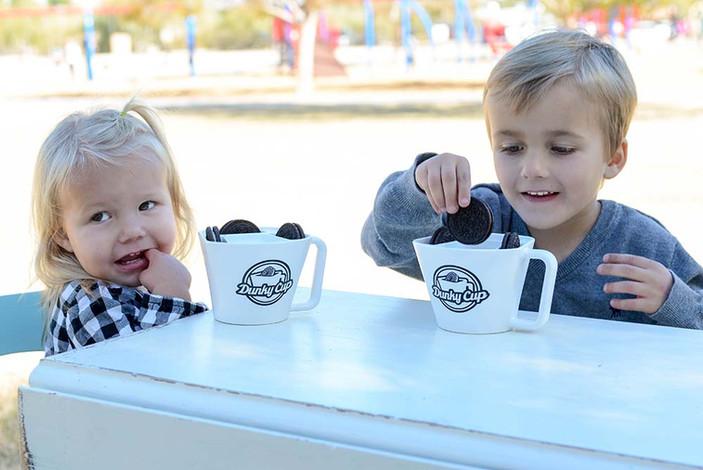 Kids Oreo Cookie and Milk Picnic