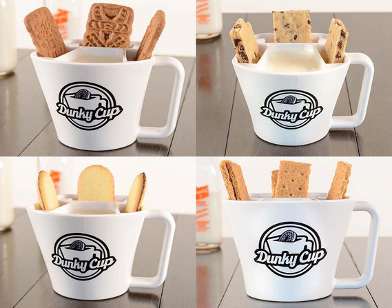 Dunky Cup Holds a Variety of Sandwich Cookies