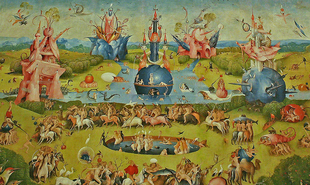 The Garden of Earthly Delights (detail), 1510 - 1515