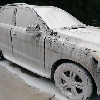 Foaming Car Wash