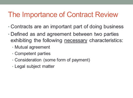 Special Importance of Contracts for Indian Businesses!