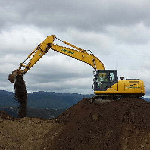 21 ton Excavator Rate per hour
