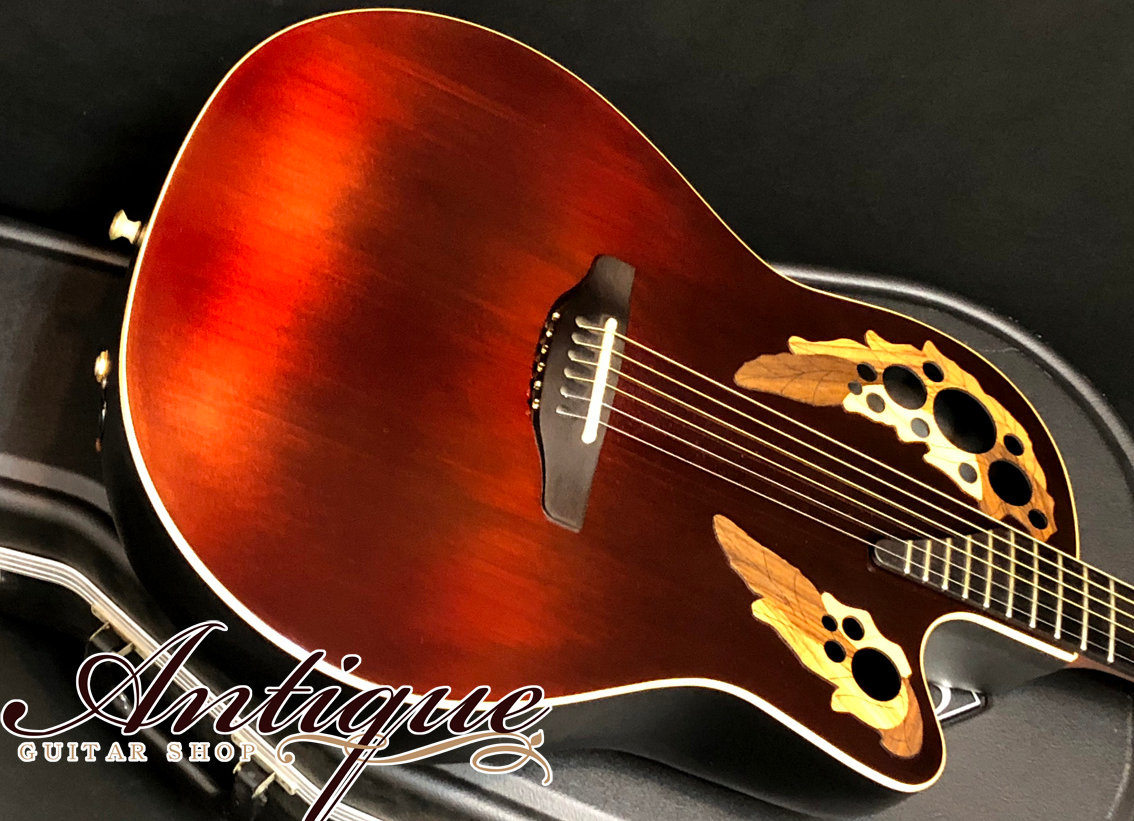 "Ovation Adamas 1597 Ruby Graphite '01年製 w/ Optima Preamp ""Carbon"