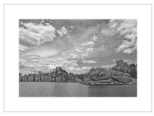 Sylvan Lake Matted Print