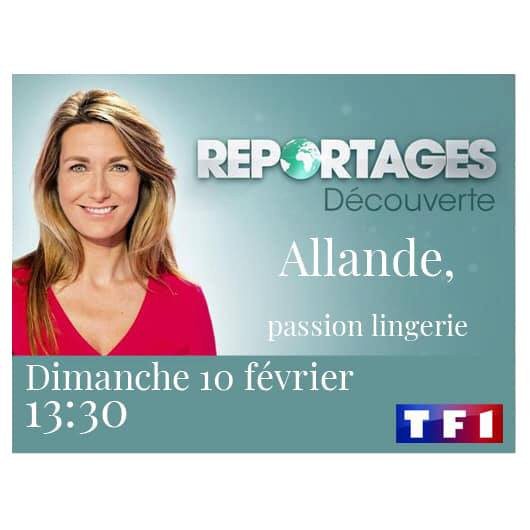 Reportage ALLANDE LINGERIE