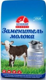 """Заменитель цельного молока """"LOGAS 12% Milk Эконом"""" с 28 дня 25 кг"""