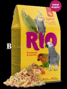 RIO для средних и крупных попугаев Яичный корм