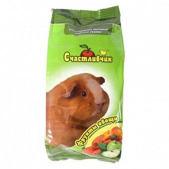Счастливчик для морс. свинок Рацион.питание фрукты+овощи 300гр