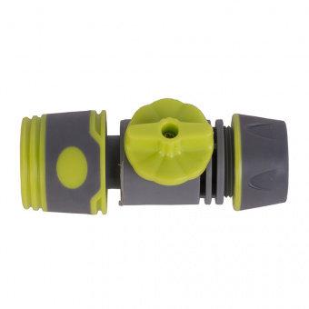 """Коннектор для шланга 1/2"""" с регулятором напора"""