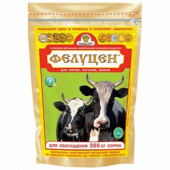 Фелуцен УВМКК К1-2 для коров, быков, нетелей 3кг