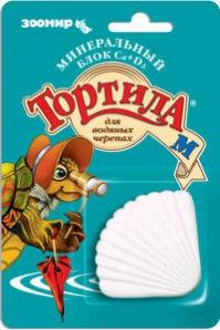 Корм для черепах Тортила Минеральный блок с кальцием для водяных черепах