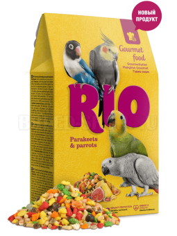 RIO для средних и крупных попугаев Гурмэ