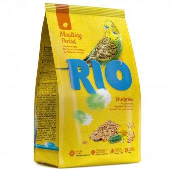 RIO для волнистых попугаев в период линьки