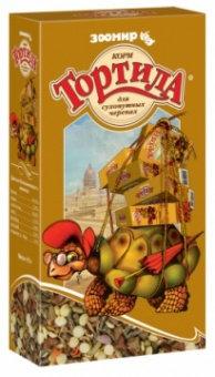 Корм для черепах Тортила для сухопутных черепах