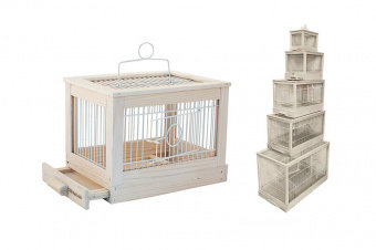 Клетка для птиц Ретро-кантри 8764