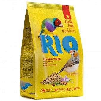 RIO для экзотических птиц. Основной рацион