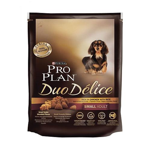 Корм для собак ПРО ПЛАН Дуо Делис для взрослых собак мелких пород Говядина 700г