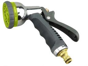 Пистолет для полива с внутренним рычагом