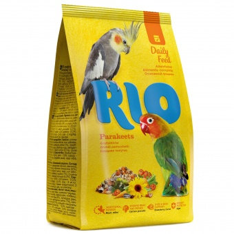 RIO для средних попугаев. Основной рацион