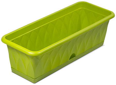 Балконный ящик 58см Сиена зеленый