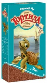 Корм для черепах Тортила Мини для водяных черепах