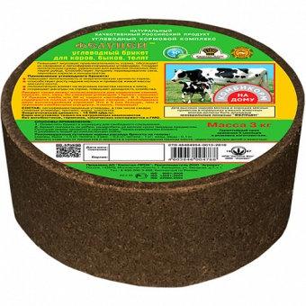 Фелуцен УКК Углеводный брикет для коров,быков и телят 3кг