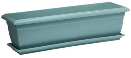 Балконный ящик 60см нефрит с поддоном