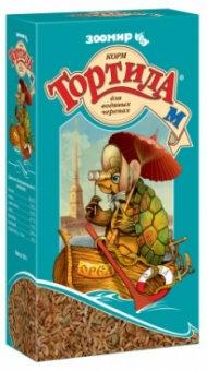 Корм для черепах Тортила -М для водяных черепах
