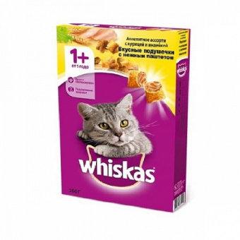 Корм для кошек Вискас курица/индейка 350гр