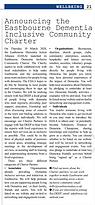 Eastbourne Voice Charter launch - April
