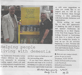 Eastbourne Voice M and S - August 2019.P