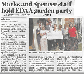 Eastbourne Herald M and S garden party -