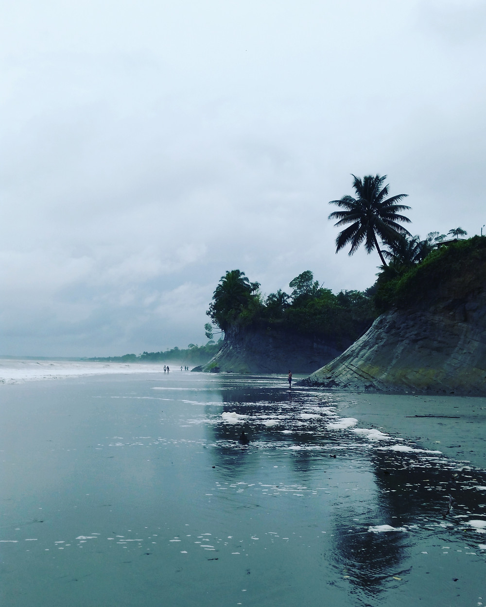 One of the beautiful beaches of Ladrilleros, Colombia